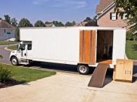 משאית להובלות משרדים